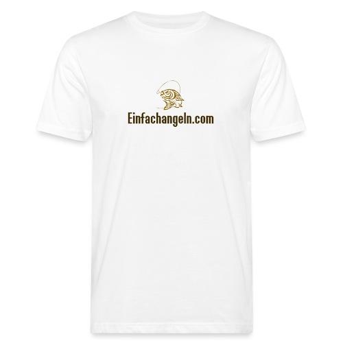 Einfachangeln Teamshirt - Männer Bio-T-Shirt