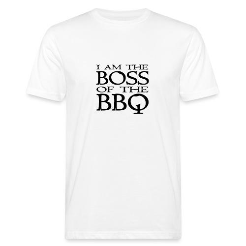 I am the Boss of the BBQ - der Chef am Grill - Männer Bio-T-Shirt