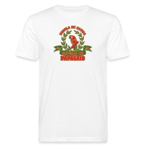 Papagaio logo - Miesten luonnonmukainen t-paita