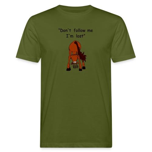 lost - Männer Bio-T-Shirt