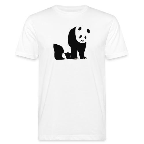 Panda - Miesten luonnonmukainen t-paita