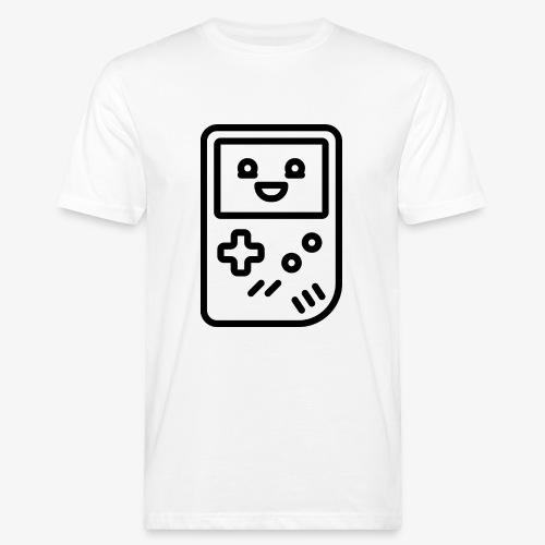 Smiling game console (black) - Men's Organic T-Shirt