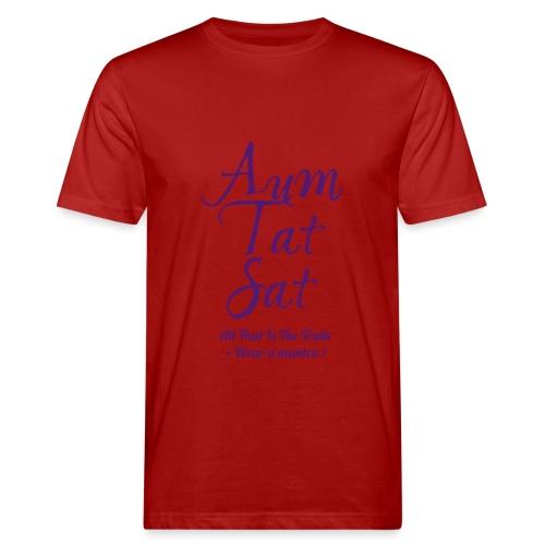 AUM TAT SAT - T-shirt ecologica da uomo