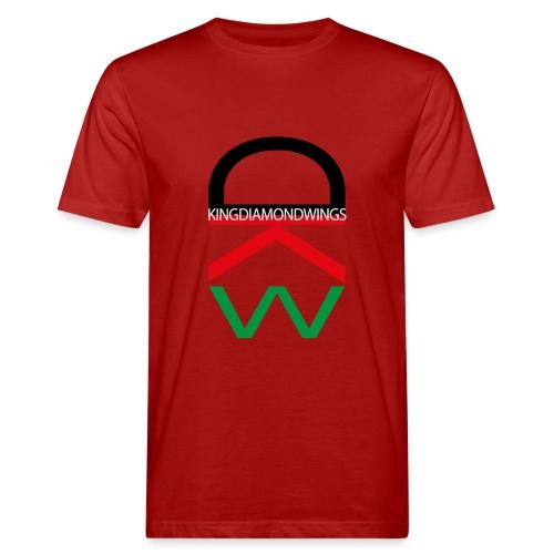 King Diamond Wings Colored Logo - Men's Organic T-Shirt