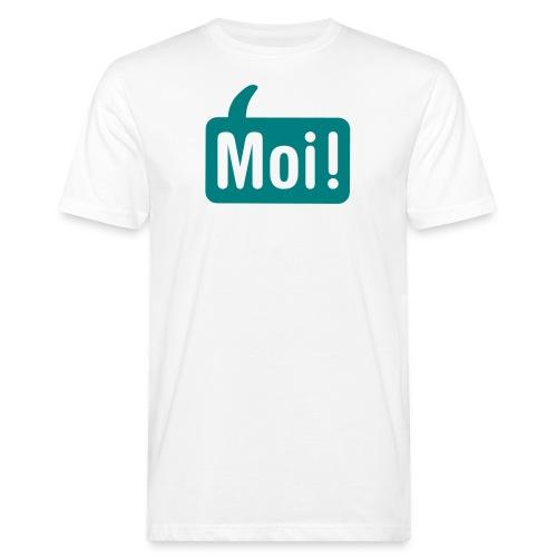 hoi shirt front - Mannen Bio-T-shirt