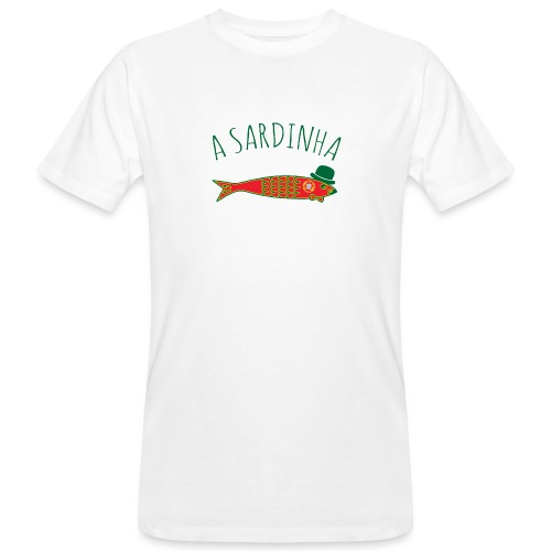 A Sardinha - Bandeira - T-shirt bio Homme