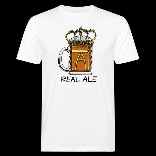 Real Ale - Men's Organic T-Shirt