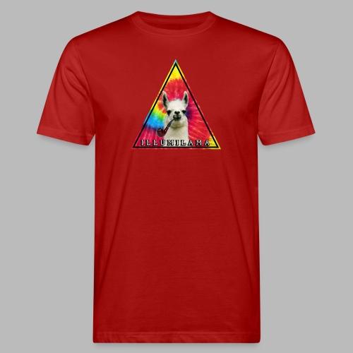 Illumilama logo T-shirt - Men's Organic T-Shirt