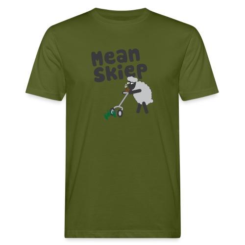 meanskiep design - Mannen Bio-T-shirt