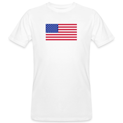 USA / United States - Mannen Bio-T-shirt