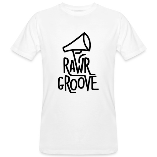 RawrGroove black - Men's Organic T-Shirt
