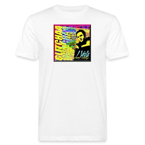 Glitchaa - Miesten luonnonmukainen t-paita