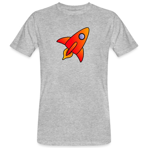 Red Rocket - Men's Organic T-Shirt