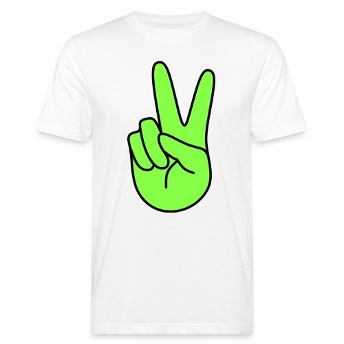 Victory, green - T-shirt bio Homme