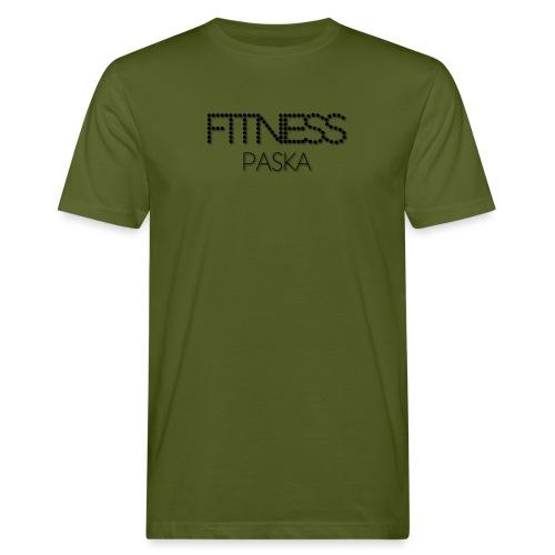 FITNESS PASKA - Miesten luonnonmukainen t-paita