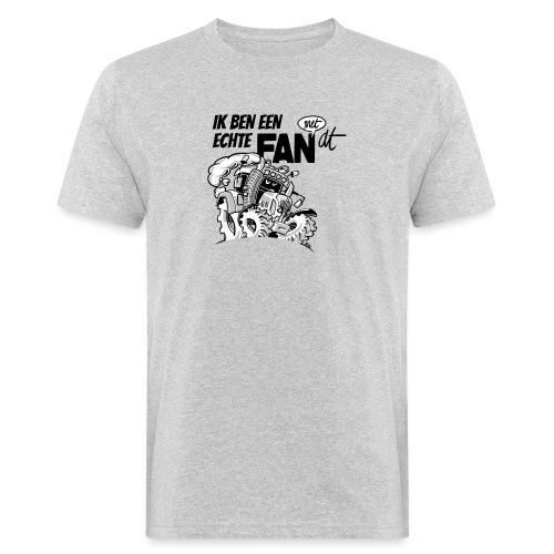 0922 Ik ben een FAN met DT - Mannen Bio-T-shirt