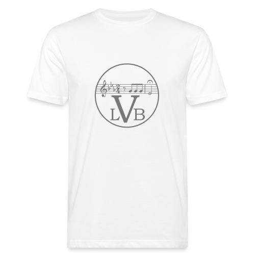 Beethoven Logo 02 - Männer Bio-T-Shirt