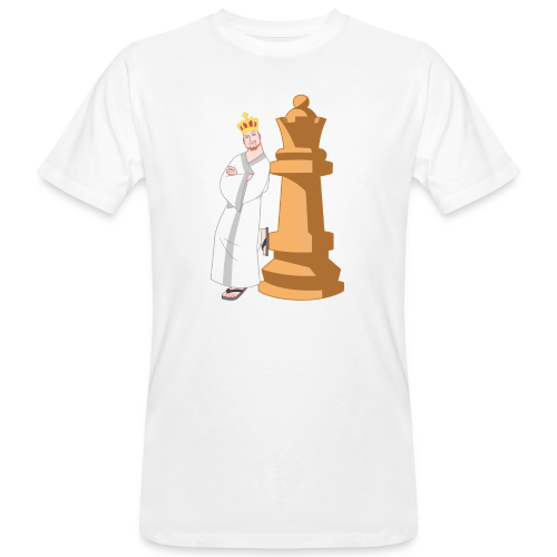 Samurai with Queen - Men's Organic T-Shirt