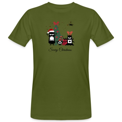 Noël effrayant - Scary Christmas - T-shirt bio Homme