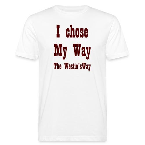 I chose My Way Brown - Ekologiczna koszulka męska