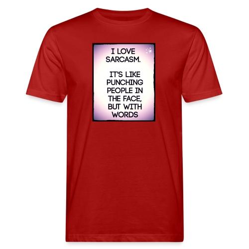 SARCASM - Mannen Bio-T-shirt