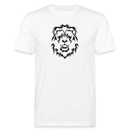 Karavaan Lion Black - Mannen Bio-T-shirt
