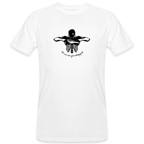 DM stripped - Männer Bio-T-Shirt