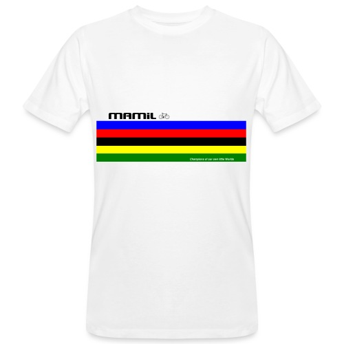 mamil world champion - Men's Organic T-Shirt