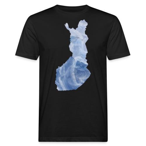 Suomi Finland - Miesten luonnonmukainen t-paita