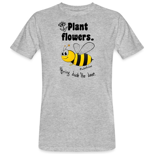 Bees8-1 Bringt die Bienen zurück! | Bookrebels - Men's Organic T-Shirt