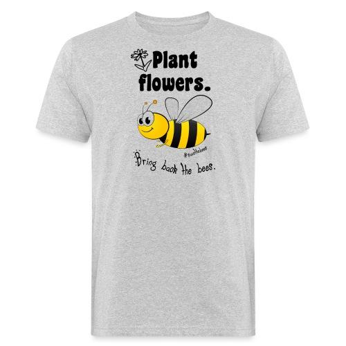 Bees8-2 Bringt die Bienen zurück! | Bookrebels - Men's Organic T-Shirt