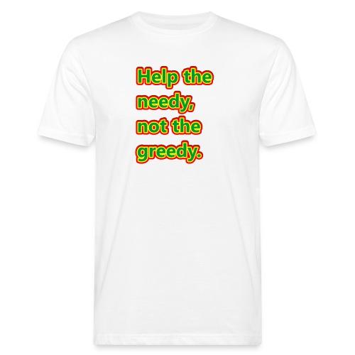 help - Men's Organic T-Shirt