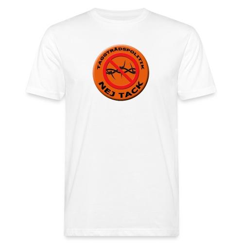 Taggtrådspolitik Ny - Ekologisk T-shirt herr
