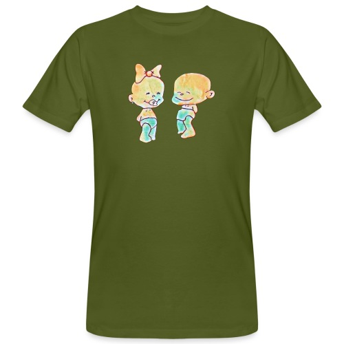 Bambini innamorati - T-shirt ecologica da uomo