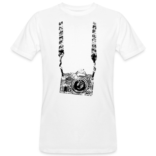Kamera - Männer Bio-T-Shirt