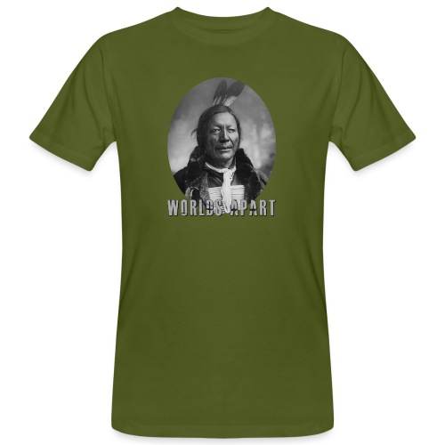 Indianer WORLDS APART - Männer Bio-T-Shirt
