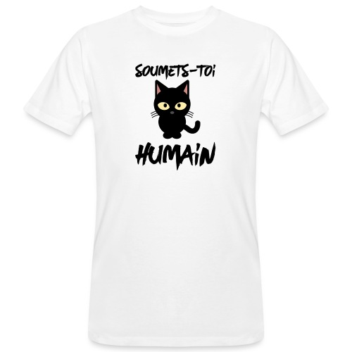 Soumets-Toi Humain - T-shirt bio Homme