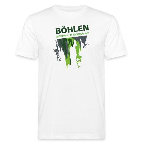 Die Weltstadt Böhlen - Männer Bio-T-Shirt