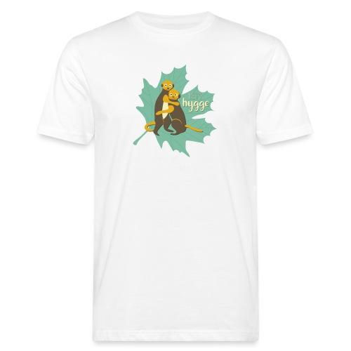 Erdmännchen Herbstfreunde Umarmung - Let's hygge - Männer Bio-T-Shirt