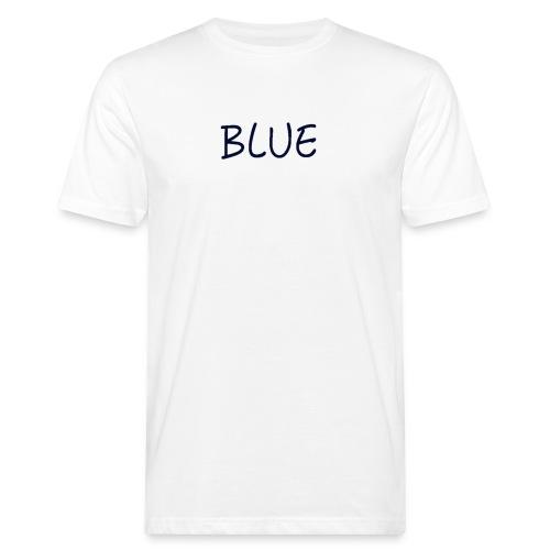 BLUE - Mannen Bio-T-shirt
