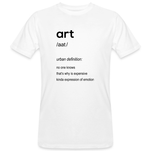 Art (art) - Men's Organic T-Shirt