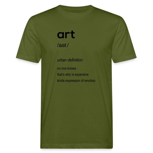 Art (art) - Men's Organic T-Shirt