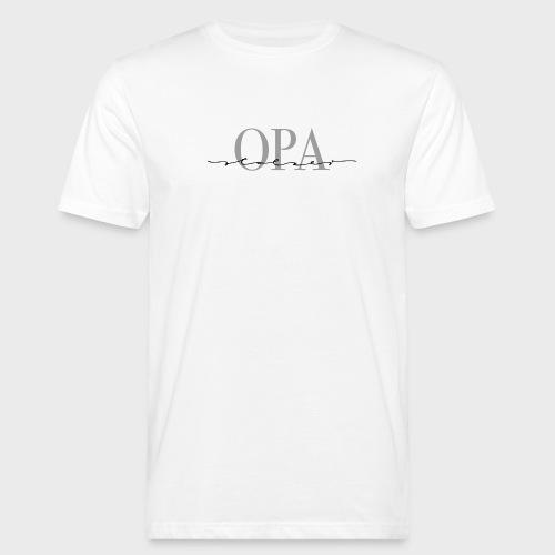 Stolzer Opa – Oma & Opa Kollektion - Männer Bio-T-Shirt