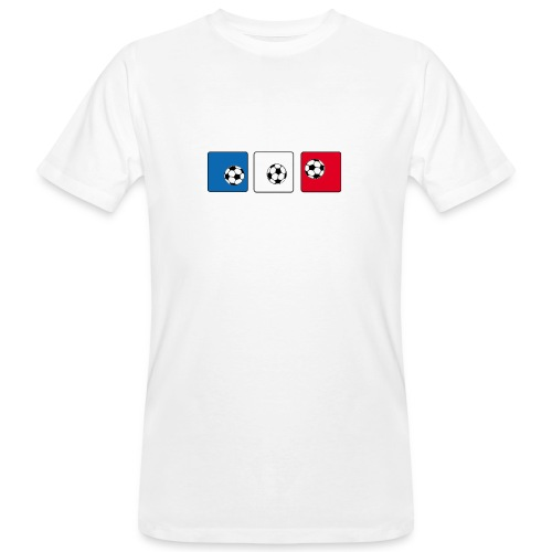 ball- france - Männer Bio-T-Shirt