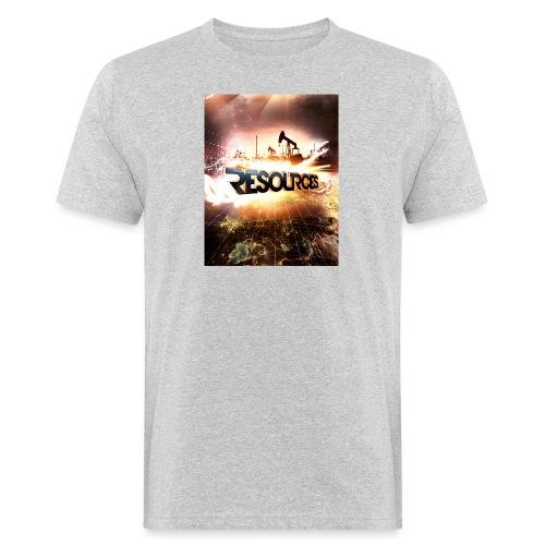 RESOURCES Splash Screen - Männer Bio-T-Shirt