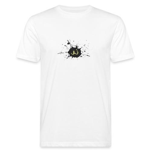 JU spray logo - Miesten luonnonmukainen t-paita