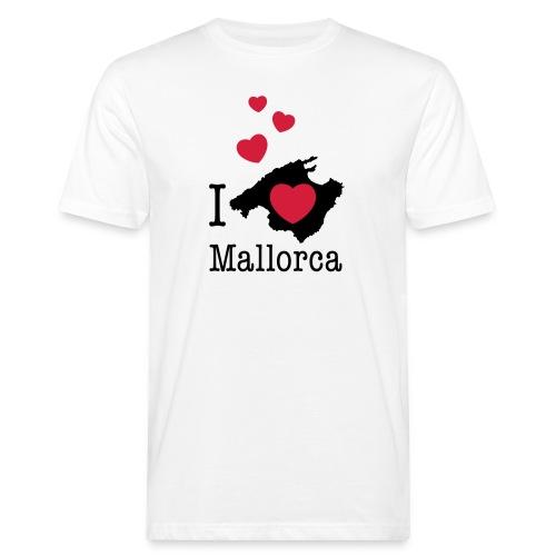 love Mallorca Balearen Spanien Ferieninsel Urlaub - Men's Organic T-Shirt