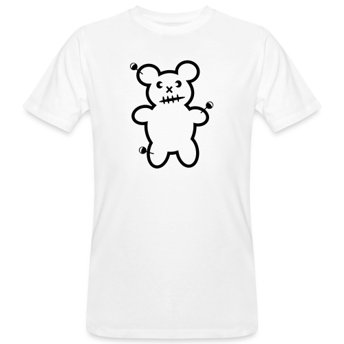 Vodoo Teddy - Männer Bio-T-Shirt