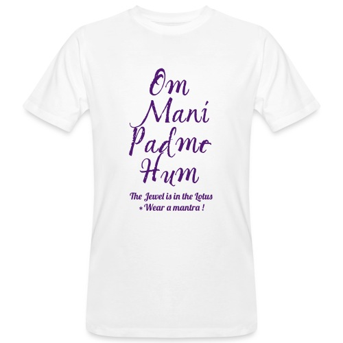 OM MANI PADME HUM - T-shirt ecologica da uomo