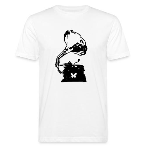 Sound Nomaden Grammophone Black - Men's Organic T-Shirt